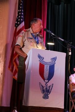 Roger Brauchli, Troop 5 Scoutmaster